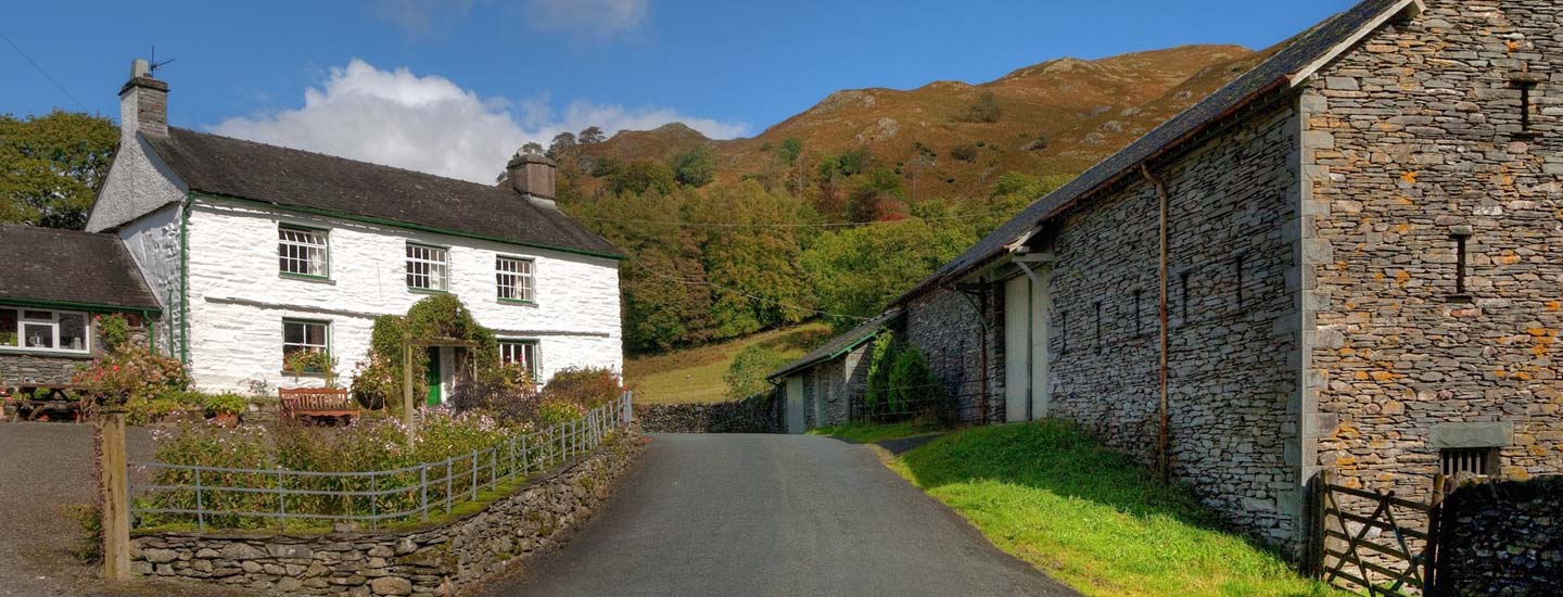 Photo: Cumbrian farmhouse